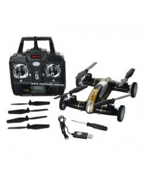2 in 1 Fly Car 4 Channel 2.4Ghz RC Quadcopter