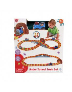 PlayGo - Under Tunnel Train Set 2069