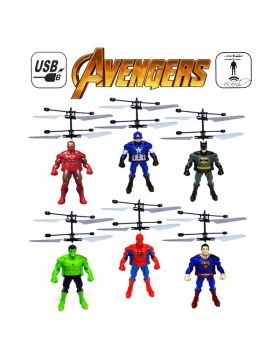 Avengers Flying Heroes With Fall Sensor