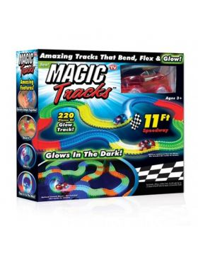 Magic Tracks Glow In The Dark Racetrack
