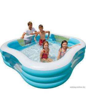 "Intex 90"" X 90"" X 22"" Swim Center Family Pool Assorted Colors"