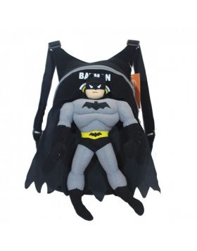 School Stuff Bag with Batman Figure