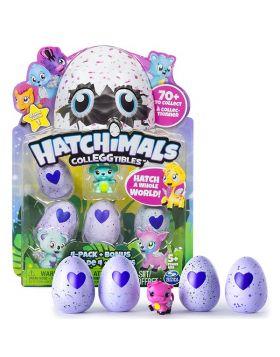 Hatchimals CollEGGtibles | 4 Pack + Bonus