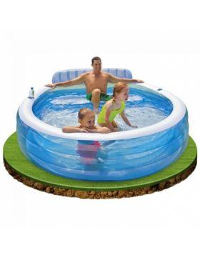 Intex Swim Centre Family Lounge Pool Bench