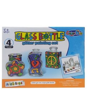 Glass Bottle Glitter Painting Set