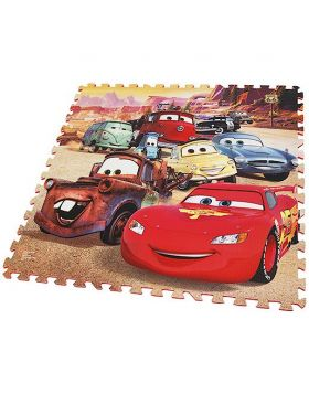 Cars 9 Piece Giant Foam Puzzle