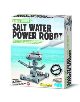 Salt Water Powered Robot Kit