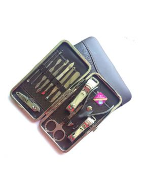 Stone Pattern Case 12pcs Nail Clipper Kit