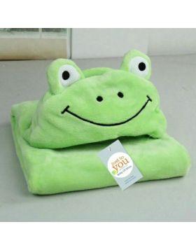 Baby Blore Blanket Frog Green