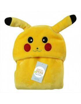 Baby Blore Blanket Pikachu Yellow