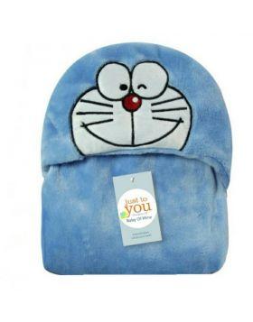 Baby Blore Blanket Doraemon Blue