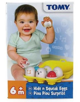 Toomies Hide & Squeak Eggs