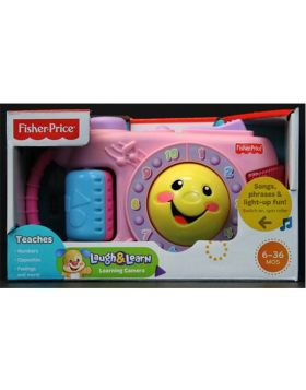 Fisher-Price Laugh and Learn Learning Pink Camera