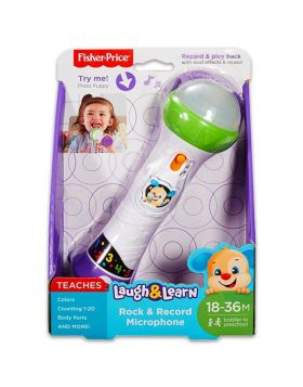 Fisher Price-Laugh & Learn® Rock & Record Microphone