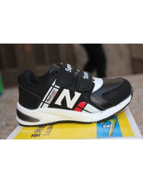Boys Black Fashion Shoes
