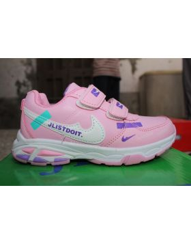 Unisex Just Do It Pink Fashion Shoes
