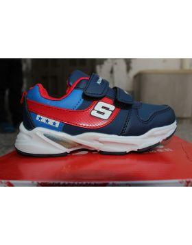 Boys Blue 3 Star Fashion Shoes