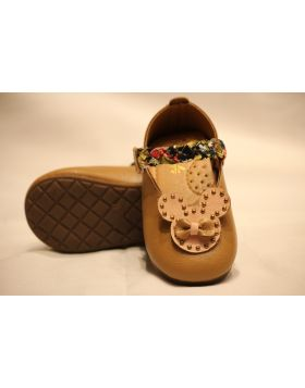 Baby Brown Mickey Shoes