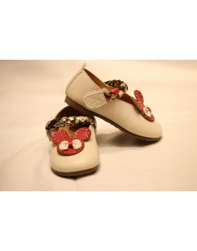 Baby White Mickey Shoes