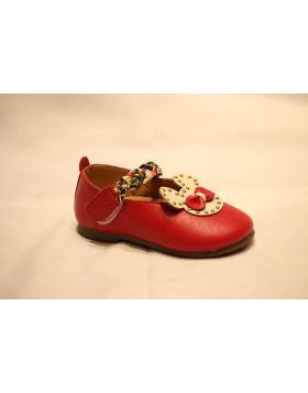 Baby Red Mickey Shoes