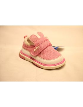 Baby Hello Mifey Pink Dotted Shoes