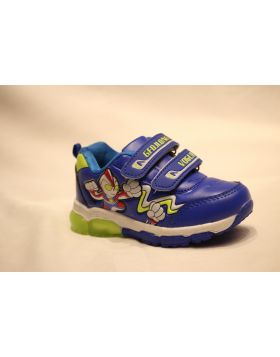 Boys GFDLong Vogue Blue Shoes With Lights