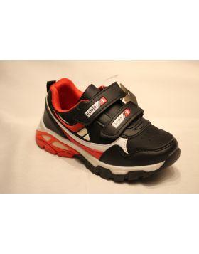 Boys RunBoy Black White Shoes