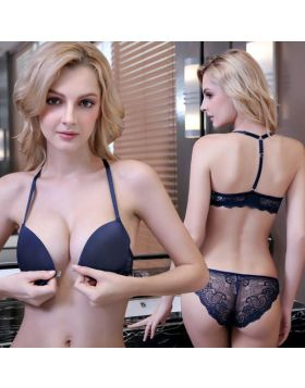 Front Closure Bra And Panty Soft Cup