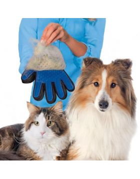 Glove For Cats Grooming Pet Dog Hair Deshedding Brush Comb Glove