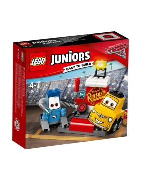LEGO Juniors Disney Cars 3 Guido and Luigi's Pit Stop 10732