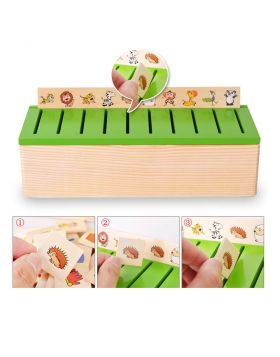 Multiple Activities Wooden Sorting Box