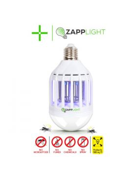 Dual LED Light Bulb and Bug Light Zapper