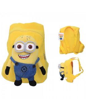 School Stuff Bag with Minion Figure