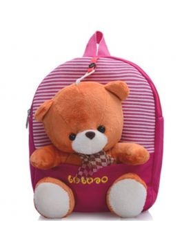 Kindergarten Bear Soft Stuffed School Bag