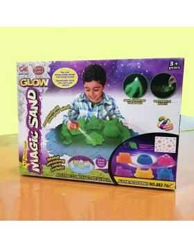 Magic Sand With Amazing Molds (750 Gram)