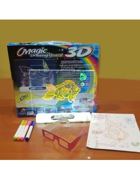 Magic 3D Drawing Board Toy Three Dimensional
