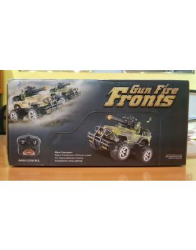 Fire Gun Army Jeep R/c