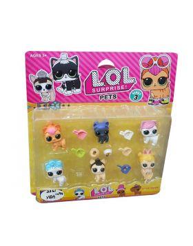 LOL Surprise Doll 6 Pets Pack