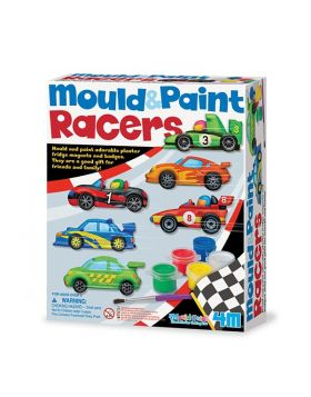Mould and Paint Racing Cars