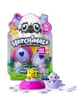 Hatchimals CollEGGtibles | 2 Pack + Nest